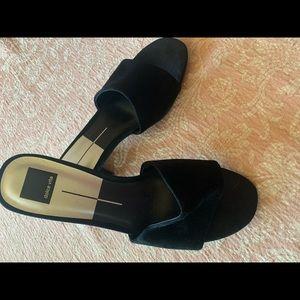Dolce Vita slip on mule suede sandals